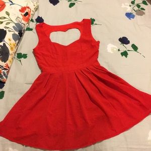 Sweetheart Red Dress